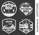 Set Of Vector Music Emblems....