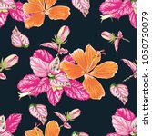 seamless pattern colorful... | Shutterstock .eps vector #1050730079