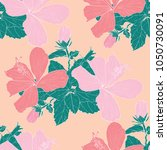 seamless pattern pastel color... | Shutterstock .eps vector #1050730091