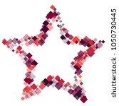 rhombus frame minimal geometric ... | Shutterstock .eps vector #1050730445