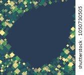 rhombus retro minimal geometric ... | Shutterstock .eps vector #1050730505