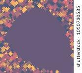 rhombus violet minimal... | Shutterstock .eps vector #1050730535
