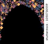 rhombus cosmic minimal... | Shutterstock .eps vector #1050730559