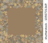 rhombus retro minimal geometric ... | Shutterstock .eps vector #1050731369