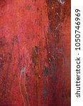 rust texture iron orange with... | Shutterstock . vector #1050746969