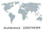 global atlas pattern combined... | Shutterstock . vector #1050749399