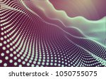 abstract polygonal space low...   Shutterstock . vector #1050755075
