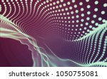 abstract polygonal space low...   Shutterstock . vector #1050755081