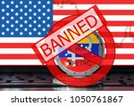 petro  ptr  banned in the usa.... | Shutterstock . vector #1050761867