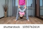 close up photo of father and...   Shutterstock . vector #1050762614