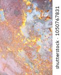 abstract corroded colorful...   Shutterstock . vector #1050767831