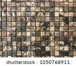 stone brick wall textured...   Shutterstock . vector #1050768911