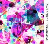 abstract seamless texture....   Shutterstock .eps vector #1050774749