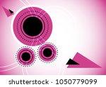 purple abstract template for... | Shutterstock .eps vector #1050779099