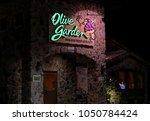hdr image  olive garden italian ... | Shutterstock . vector #1050784424