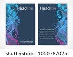 vector templates for brochure...   Shutterstock .eps vector #1050787025