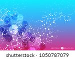 structure molecule and...   Shutterstock .eps vector #1050787079
