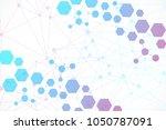 modern futuristic background of ...   Shutterstock .eps vector #1050787091