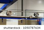 image of a metal guide and... | Shutterstock . vector #1050787634
