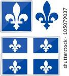 Quebec Emblem Illustration