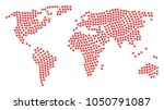 global atlas collage... | Shutterstock . vector #1050791087