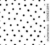 hand drawn circles  polka dot...   Shutterstock .eps vector #1050821894