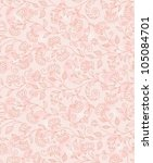 floral seamless background | Shutterstock .eps vector #105084701