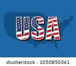 usa sign vector  | Shutterstock .eps vector #1050850361