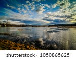 nisqually national wildlife... | Shutterstock . vector #1050865625