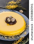 Easter Cake With Yellow Mirror...