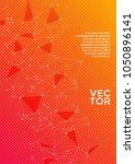 report template. global network ... | Shutterstock .eps vector #1050896141