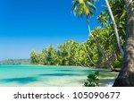 leaves frame close up | Shutterstock . vector #105090677