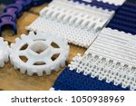 platic belt conveyor part for... | Shutterstock . vector #1050938969