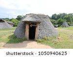 pit dwelling house in aomori ... | Shutterstock . vector #1050940625