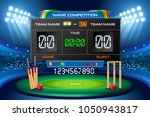 cricket background with... | Shutterstock .eps vector #1050943817