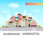 vector illustration of a small... | Shutterstock .eps vector #1050945731