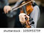art and artist. young elegant... | Shutterstock . vector #1050953759