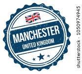 manchester  united kingdom.... | Shutterstock .eps vector #1050974945