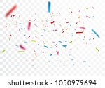 celebration with colorful... | Shutterstock .eps vector #1050979694