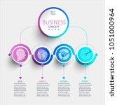 creative modern infographic...   Shutterstock .eps vector #1051000964