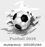 football  sport  text | Shutterstock .eps vector #1051001564