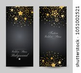 anniversary luxury backgrounds... | Shutterstock .eps vector #1051002521