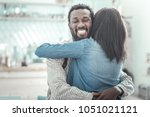 good relationships. joyful... | Shutterstock . vector #1051021121