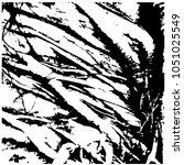 ficus banyan. silhouette. a... | Shutterstock .eps vector #1051025549