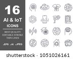 set of 16 quality icons about...
