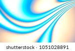 color illustration. holographic ... | Shutterstock . vector #1051028891