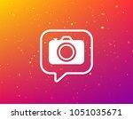 camera icon. professional... | Shutterstock .eps vector #1051035671