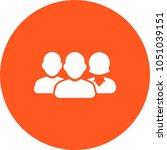 3 member team icon   Shutterstock .eps vector #1051039151
