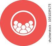 user groups icon | Shutterstock .eps vector #1051039175