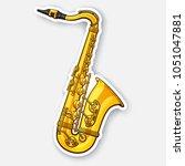 vector illustration. classical... | Shutterstock .eps vector #1051047881